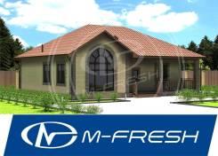 M-fresh Talisman (Посмотрите этот проект дома с огромным витражом! ). 100-200 кв. м., 1 этаж, 5 комнат, бетон