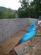 Строительство любых типов фундаментов, подпорные стены.