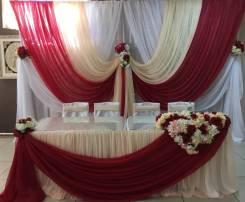 Свадьба. Оформление свадебных залов .