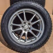 """Зимний комплект на Subaru 17"""" Bridgestone Eco Forme SE-10. 7.0x17"""" 5x100.00 ET53"""