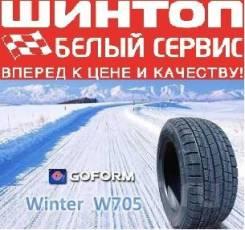 Goform W705. Зимние, без шипов, 2018 год, без износа, 1 шт