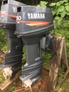 Yamaha. 50,00л.с., 2-тактный, бензиновый, нога X (635 мм), 2002 год год