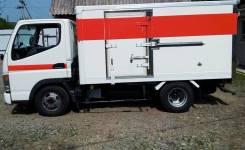 Mitsubishi Fuso Canter. Продам изотермический фургон термос 1,5 тонны. Настоящий японец, 2 800куб. см., 1 500кг., 4x2