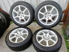 """Жирный комплект колёс без пробега по РФ Dunlop Winter Maxx 235/50/17. 8.0x17"""" 5x114.30 ET55"""