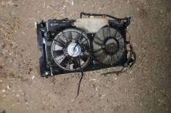 Радиатор охлаждения двигателя. Toyota Corolla Fielder, CE121, CE121G Двигатель 3CE