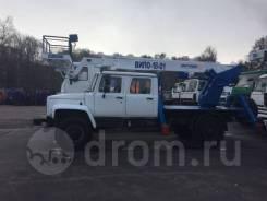 Випо-18. Автогидроподъемник ВИПО-18-01 на шасси ГАЗ-33088 (4х4) 5м, 18,00м.