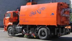 Кургандормаш КО-318Д. Продается КО-318Д на шасси Камаз-53605 вакуумная подметально-уборочная, 6 700куб. см.
