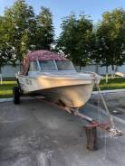 Амур-Д. 1990 год год, длина 5,50м., двигатель стационарный, 85,00л.с., бензин