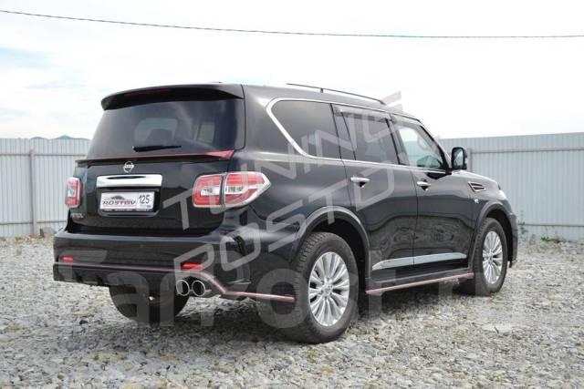 Обвес кузова аэродинамический. Nissan Patrol, Y62