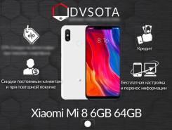 Xiaomi Mi8. Новый, 64 Гб, Белый, 4G LTE, Dual-SIM