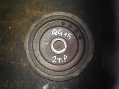 Шкив коленвала, Nissan, QG15-DE