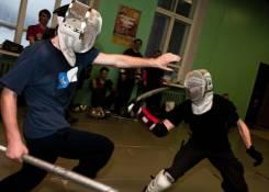 Боевые искусства, Фехтование палками
