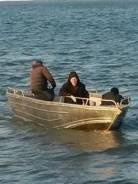Катер для ловли рыбы из алюминия. 2018 год год, длина 5,00м., двигатель подвесной, бензин. Под заказ