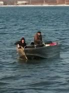 Катер алюминиевый для рыбалки. 2018 год год, длина 5,80м., двигатель подвесной, бензин