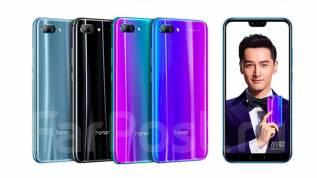 Huawei Honor 10. Новый, 64 Гб, Синий, Черный, 3G, 4G LTE, Dual-SIM