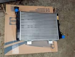 Радиатор охлаждения двигателя. Лада 2106, 2106