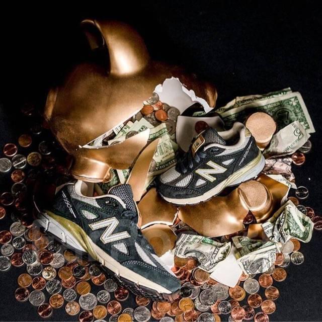 the best attitude f122b c7535 Кроссовки New Balance 990v4 Benjamin Bread 100 - Обувь во ...