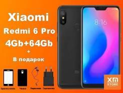 Xiaomi Redmi 6 Pro. Новый, 64 Гб, 4G LTE, Dual-SIM