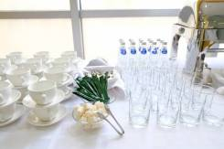 Аренда посуды, текстиля, формы и оборудования для фуршета, банкета!