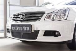 Защитная сетка переднего бампера Nissan Almera 3 (G15)