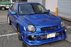 Обратная ноздря в капот Subaru Impreza WRX STI GG GDA GDB, Forester SG во Владивостоке