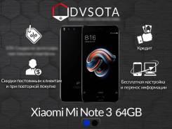 Xiaomi Mi Note 3. Новый, 64 Гб, Черный