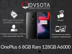 OnePlus 6. Новый, 128 Гб, Черный, 4G LTE, Dual-SIM, Защищенный