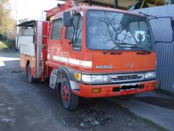Hino Ranger. Продам грузовик с краном, 8 000кг., 4x2