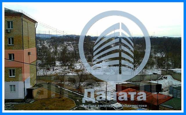 1-комнатная, улица Рыбацкая 2а. Весенняя, агентство, 32кв.м. Вид из окна днем