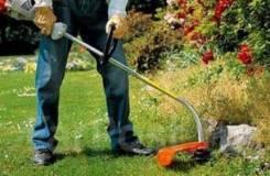 Покос травы. Уборка территорий.