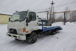 Hyundai HD78. Автоэвакуатор на шасси ломаная платформа (5450-6250 мм. ), 4 775кг., 4x2