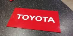 Табличка. Toyota Corolla