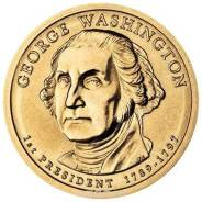 1 доллар США 2007 - 1 Президент Вашингтон (George Washington)