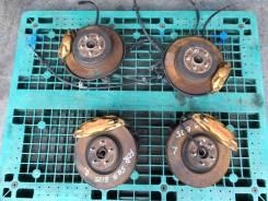 Тормоза ступицы тормозная система Brembo Gold Subaru WRX STI GDB SG9. Subaru Forester, SF5, SF6, SF9, SG, SG5, SG6, SG69, SG9, SG9L, SH, SH5, SH9, SH9...