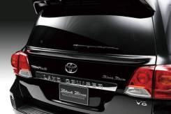 Спойлер. Toyota Land Cruiser, GRJ200, GRJ76K, GRJ79K, J200, URJ200, URJ202, URJ202W, UZJ200, UZJ200W, VDJ200 Двигатели: 1GRFE, 1URFE, 1VDFTV, 2UZFE, 3...