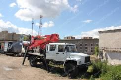 """ГАЗ-33088. Автовышка """"Садко"""", Егерь, двухрядная кабина, Socage DA-324, 24,00м."""