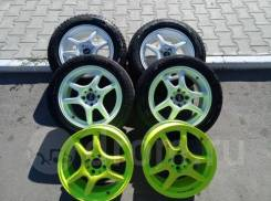"Black Racing. 6.5x15"", 4x100.00, ET43, ЦО 63,0 мм."