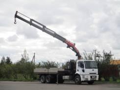 Ford Cargo. с манипулятором, 7 330куб. см., 15 000кг., 6x2