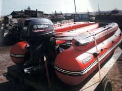 Лодка Абакан с мотором Ямаха40