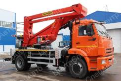 КамАЗ 43253. Автовышка Камаз 43253 АГП Palfinger P280A, комбинированная, 4х2, 6 700куб. см., 28,00м.