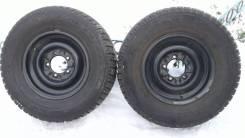 "2 зимних колеса УАЗ. x15"""