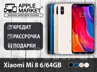 Xiaomi Mi8. Новый, 64 Гб, Белый, Золотой, Синий, Черный, 3G, 4G LTE, Dual-SIM