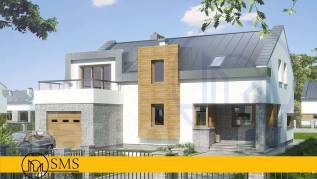 """Проект дома """"M-Avolution"""". 100-200 кв. м., 2 этажа, 5 комнат, комбинированный"""