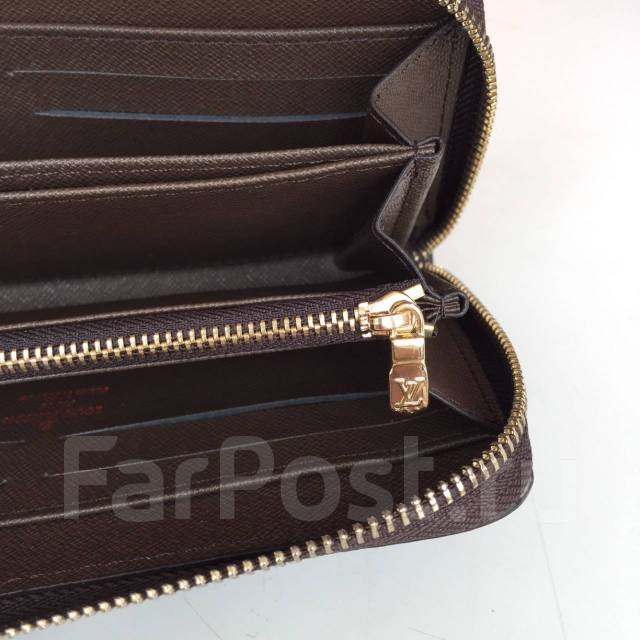 Кошелек Louis Vuitton Zippy Damier Ebene Canvas Реплика 1 1 ... 13ba16d671d