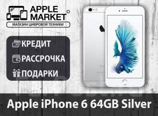 Apple iPhone 6. Новый, 64 Гб, Серебристый, 3G, 4G LTE. Под заказ