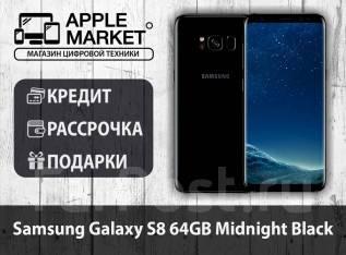 Samsung Galaxy S8. Новый, 64 Гб, Черный, 3G, 4G LTE