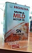 Honda Ultra Mild. Вязкость 10W-30, полусинтетическое