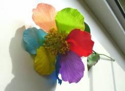 Необычный подарок цветик-семицветик ручной работы