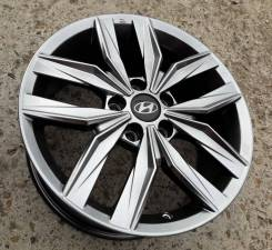"Новые литые диски K&K КС774 на Hyundai I40, Creta R17. 7.0x17"", 5x114.30, ET45, ЦО 67,1мм."
