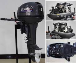 Sea-Pro. 18,00л.с., 2-тактный, бензиновый, нога S (381 мм), 2018 год год